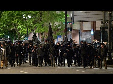 Portland Antifa May Day Riot 2021