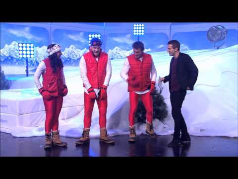 A League of Their Own - Australia - Snow Game - Pat Cash, Eamon Sullivan, Tommy Little