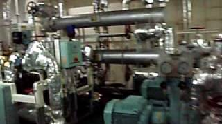container ship - engine room