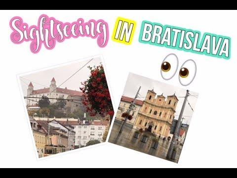 Sightseeing in BRATISLAVA | Inspiring Vanessa