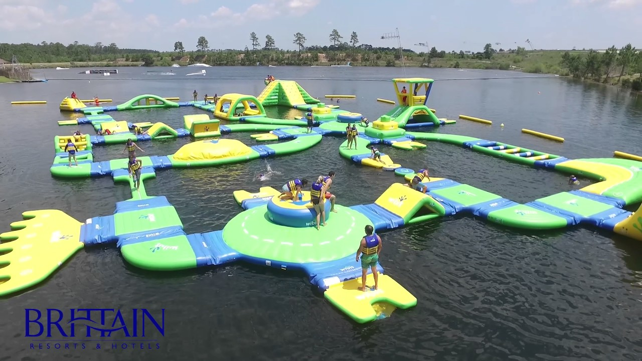 Aqua Park At Shark Wake
