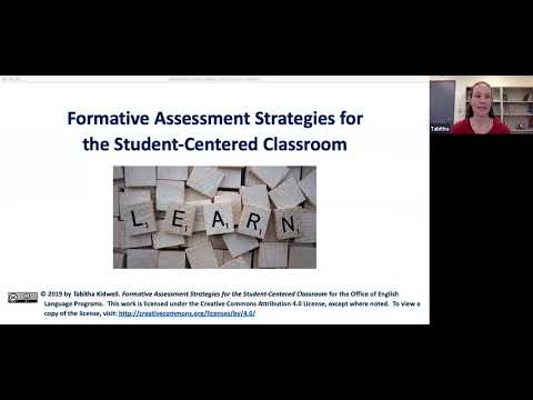 AE Live 6.5: Formative Assessment Strategies For The Student Centered Classroom