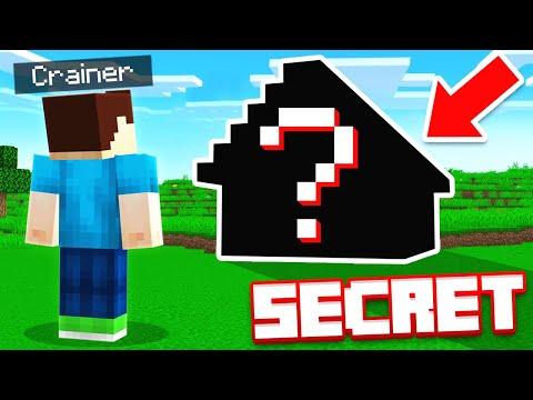 THEY BUILT A *SECRET* MANSION (Minecraft)