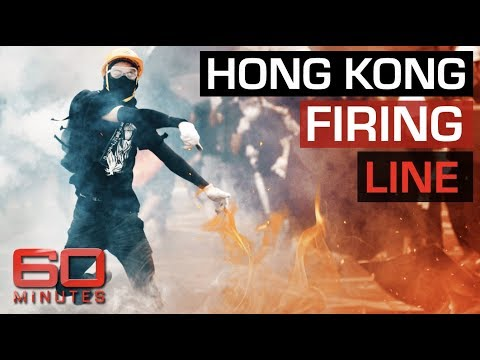 Dramatic Vision From Out Of Control Hong Kong Protests | 60 Minutes Australia