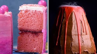 14 Easy DIY Cakes and Treats | Amazing Science, Strawberry, and Vertical Cakes by So Yummy