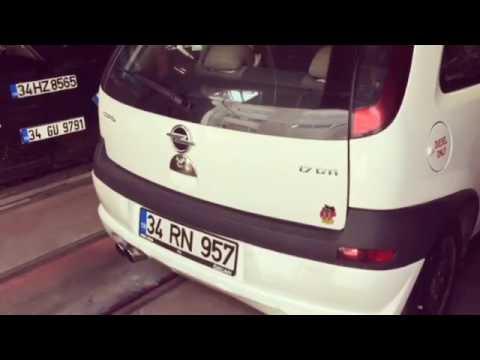 Opel Corsa 1.7 Dizel Egzoz Sesi ve Yazılım 170 Hp