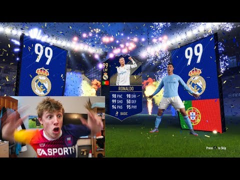 I GOT 99 TOTY RONALDO IN A PACK!!!! - FIFA 18 PACK OPENING