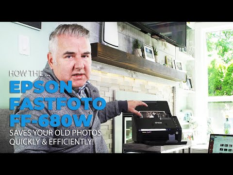 How The Epson FastFoto FF-680W Quickly Digitizes Your Old Photos