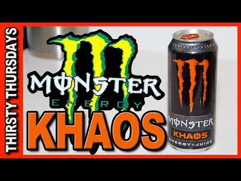 Monster ★ KHAOS Energy Plus Juice Drink Review