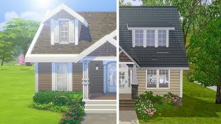 SIMS 3 VS SIMS 4 ULTIMATE BUILD CHALLENGE