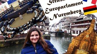 Страсбург(Европарламент),Нюрнберг. | Strasbourg (Europarlament), Norymberga (Nurnberg)(Всем Cześć! Это видео о моей поездке в Страсбург (Франция) и посещение европарламента. Так же о посещении Нюрн..., 2015-12-27T00:41:22.000Z)