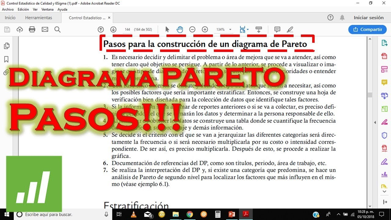 hight resolution of diagrama de pareto pasos y recomendaci n explicaci n a detalle