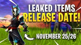 *LEAKED* ITEM SHOPS RELEASE DATES! - Fortnite Battle Royale (Taro Skins, Bundles, Tender Defender)