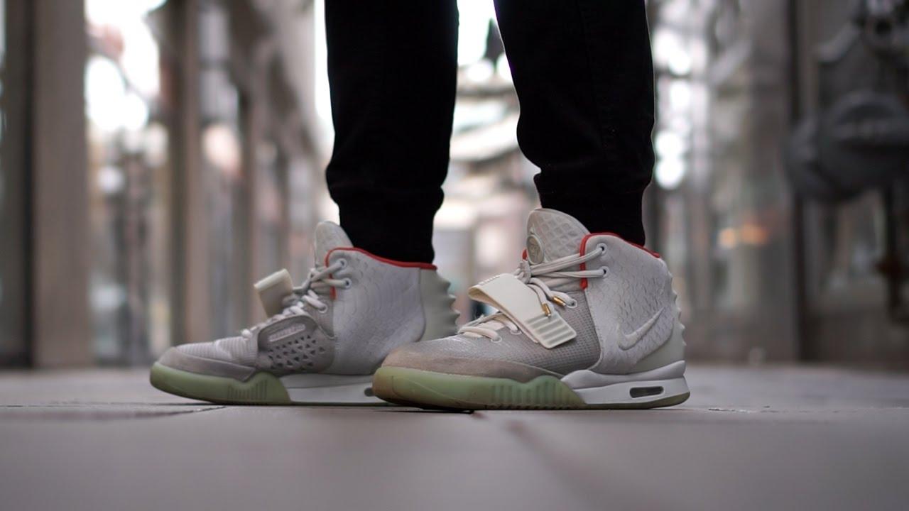 Nike Yeezy 2 Plats On Feet Video