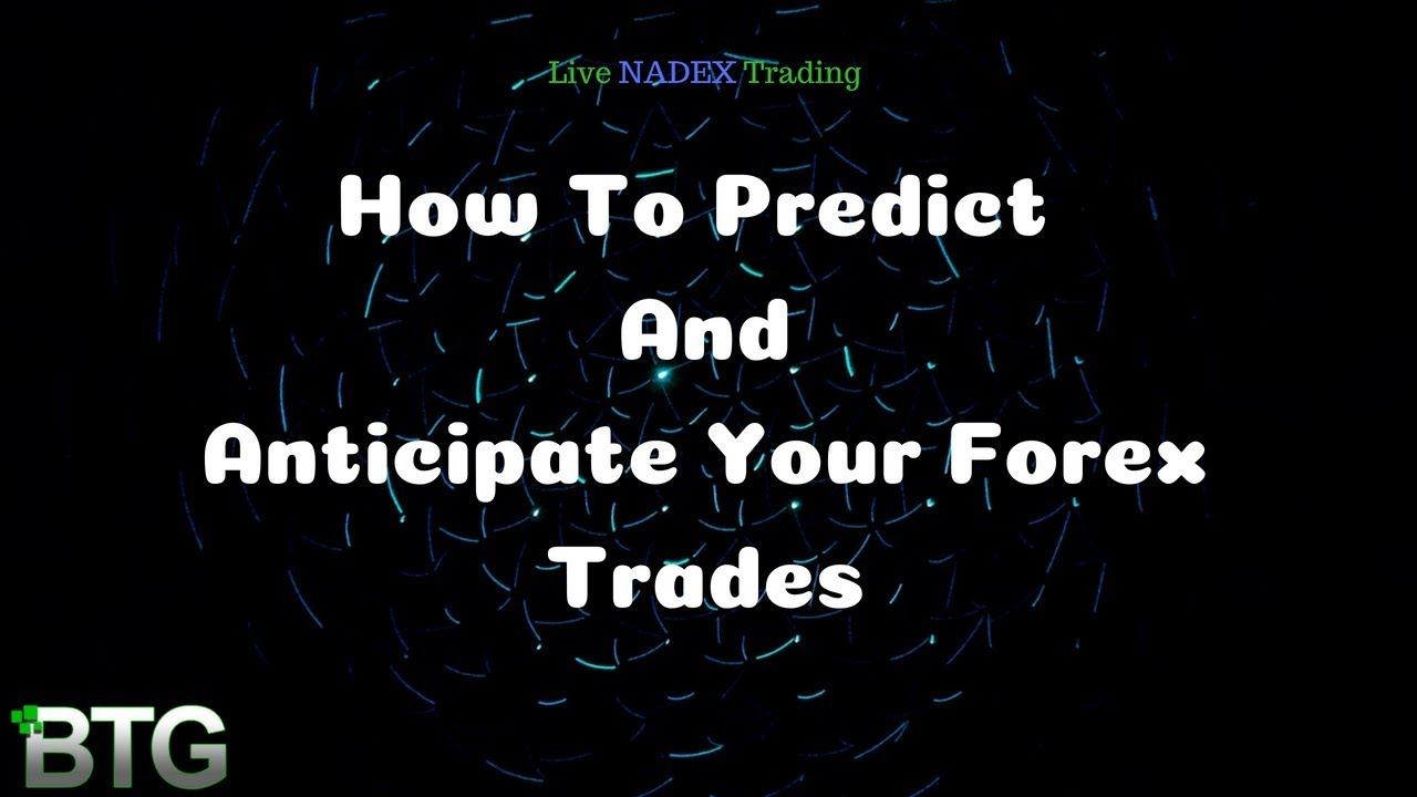 How to predict forex charts