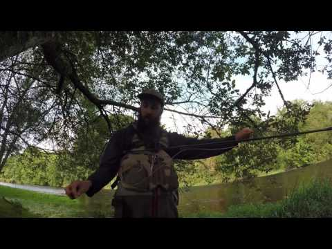 WuFishing. Fly Fishing For Brown Trout And Grayling On The River Dee (CADAC)