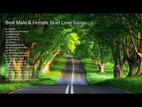 BEST MALE & FEMALE DUET LOVE SONGS - GREATEST HITS PLAYLIST 70s 80s 90s Vol. 2