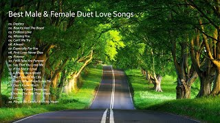 BEST MALE & FEMALE DUET LOVE SONGS - GREATEST HITS PLAYLIST 70s 80s 90s Vol. 2