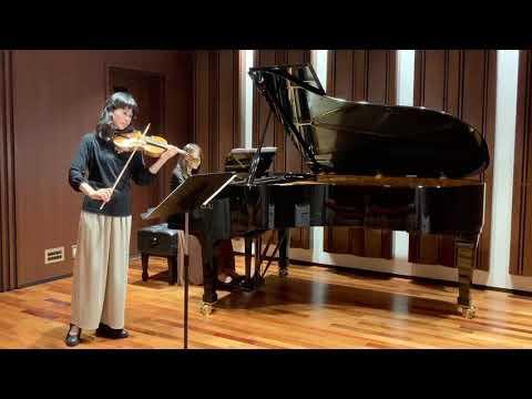 """山田耕作:日本組曲より「お江戸日本橋」 Kosaku Yamada """"O-YEDO NIHONBASHI""""from Suite Japoneaise for Violin and Piano"""