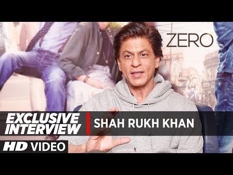 Exclusive Interview: Shah Rukh Khan |  Zero