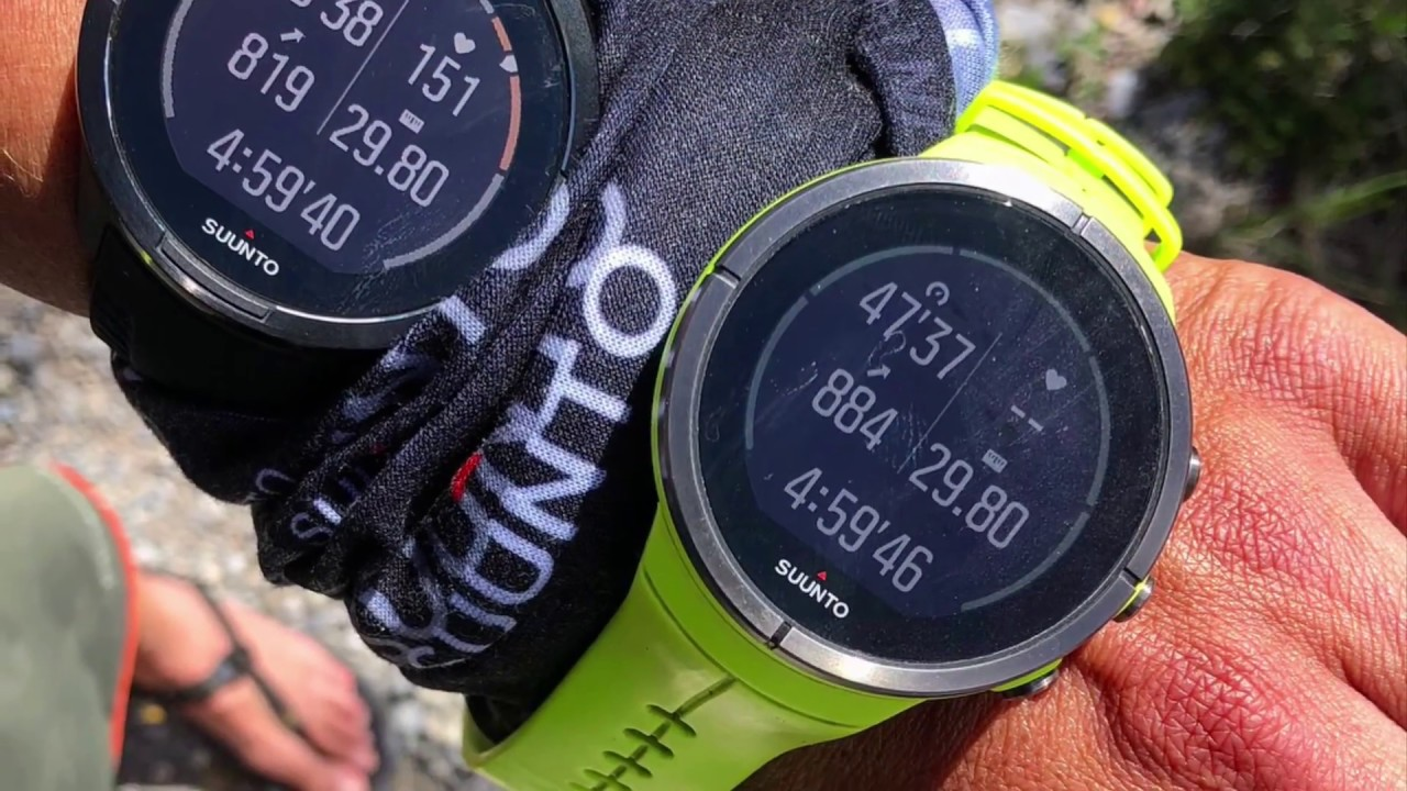 Suunto 9 Vs Suunto Spartan Ultra Accuracy Compared 1080 Hd Youtube
