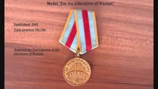 Боевые награды: Медали СССР 6 Medals of the Soviet Union part 6 Medaillen der Sowjetunion