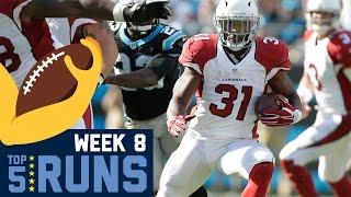 Top 5 Runs (Week 8) | NFL
