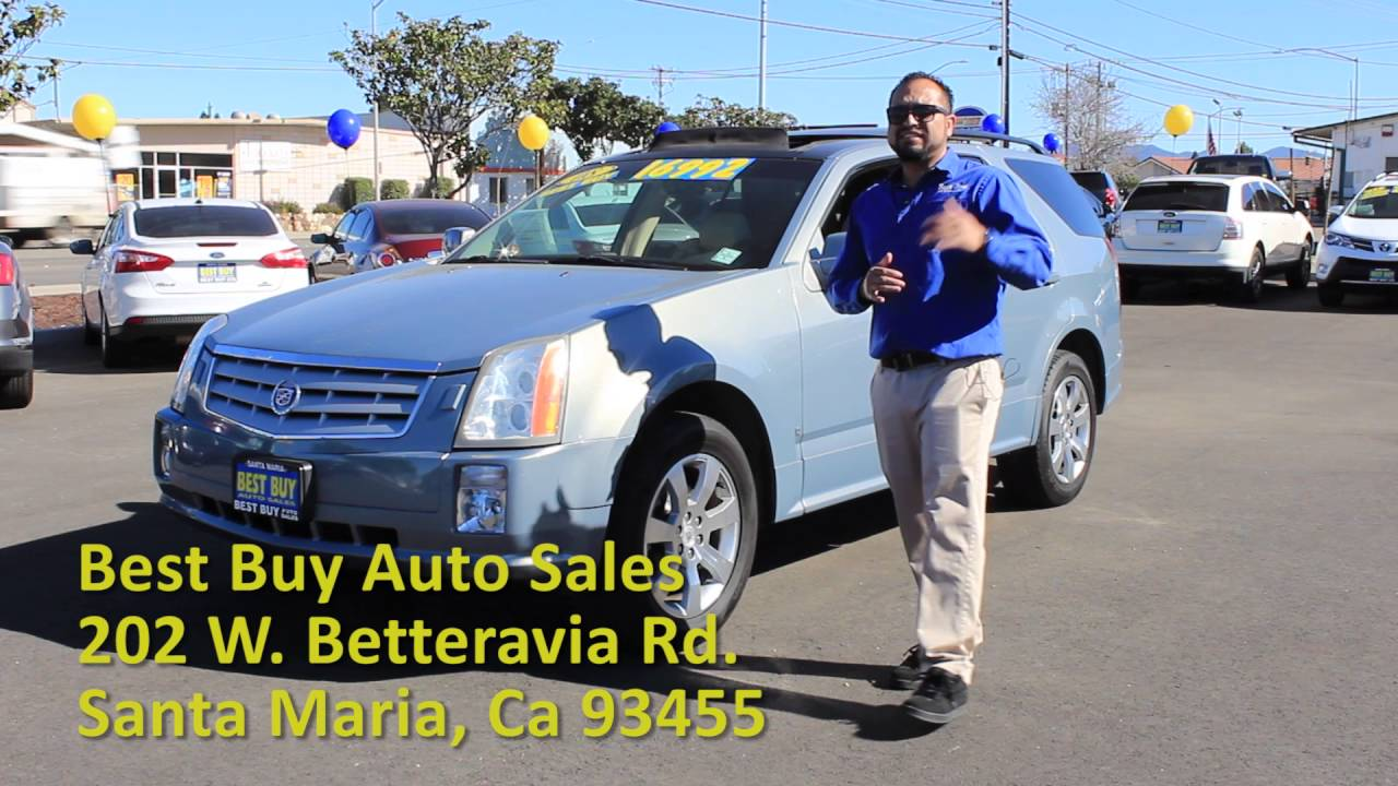Best Buy Auto Sales Betteravia Used Car 2008 Cadillac Youtube
