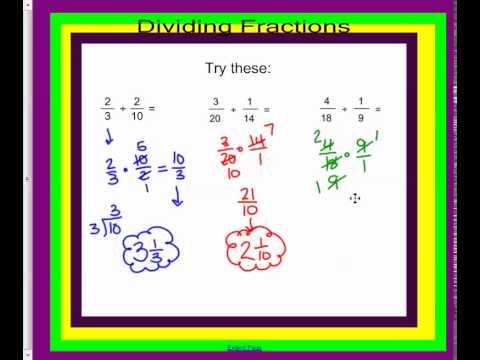 Mm Dividing Fractions