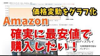 AmazonでKeepaを使って確実に最安値で購入する!