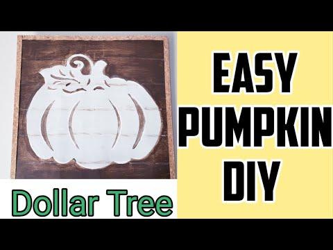 Dollar Tree DIY~Pumpkin DIY ~ Fall decor ~Quick and easy