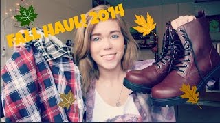 Fall Clothing Haul 2014 | Makeupkatie95 Thumbnail