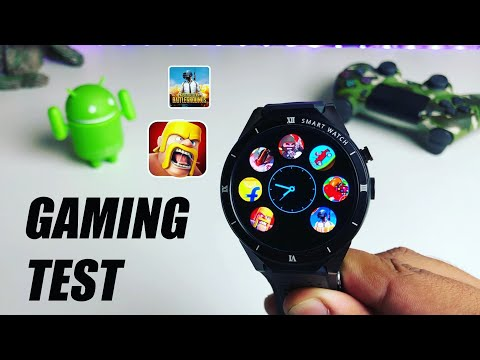 Android SmartWatch Gaming Test 2019 (PUBG Mobile, COC)