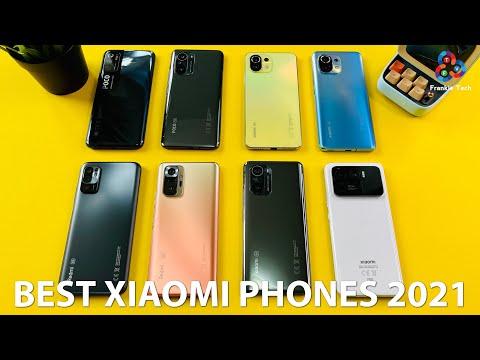 BEST XIAOMI PHONES (so far) of 2021!
