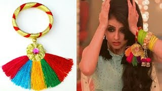 DIY Navratri Bangle / Latest Gota Bangles Design Ideas /DIY Traditional Bangles ll BOHO JEWELLARY