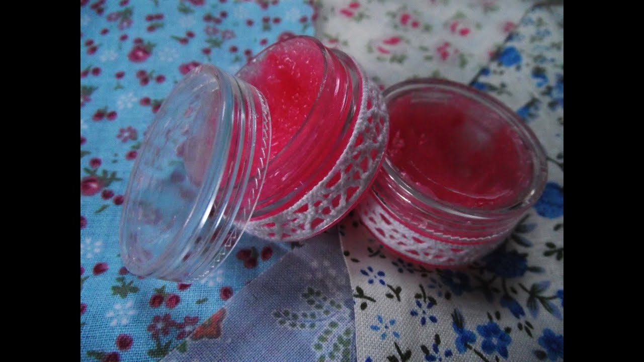 How To Make Your Own Lip Scrub (Lush Dupe) - YouTube