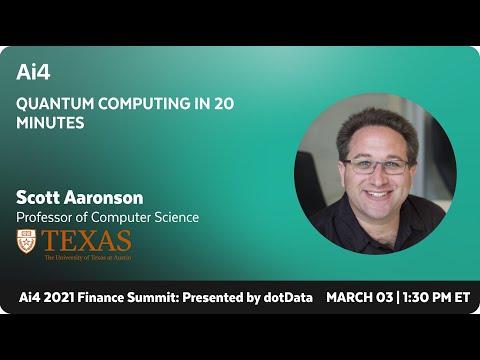 Quantum Computing in 20 Minutes
