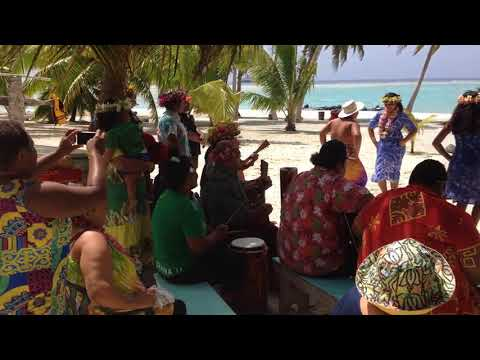 Palmerston Island - Lucky School Performance - Will in Paradise