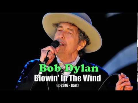 Bob Dylan - Blowin' In The Wind (Karaoke)