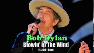 Bob Dylan - Blowin' In The Wind (Karaoke)