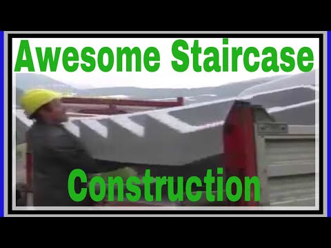 Awesome Staircase Construction Civil Engineering