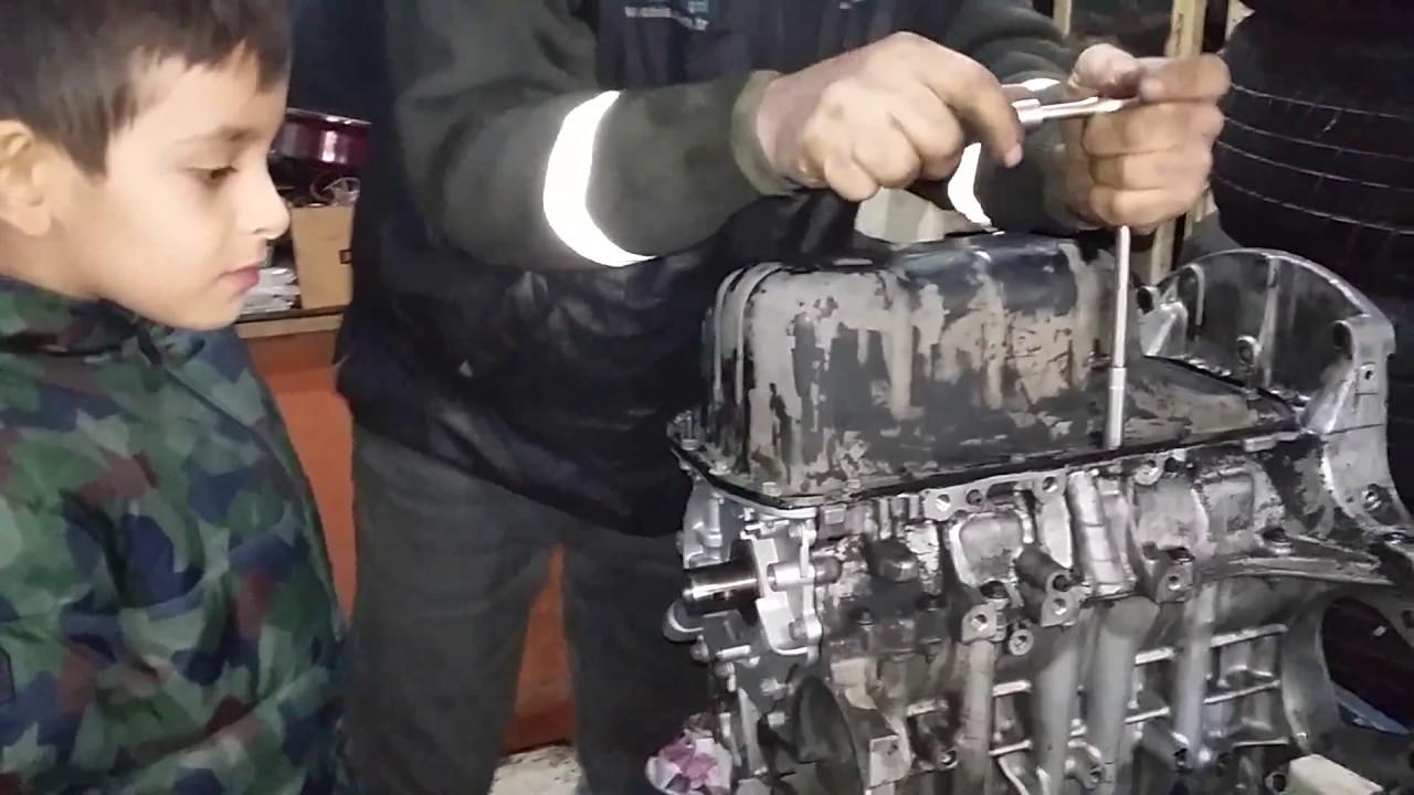 1.4 hdİ motor yapiyoruz ( motor rektefİye yenİleme ) 1 - youtube