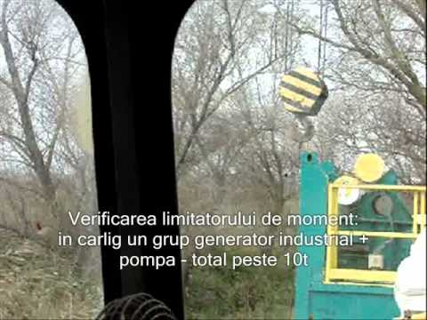 Overload test with mobile crane - video required by company owner.wmv