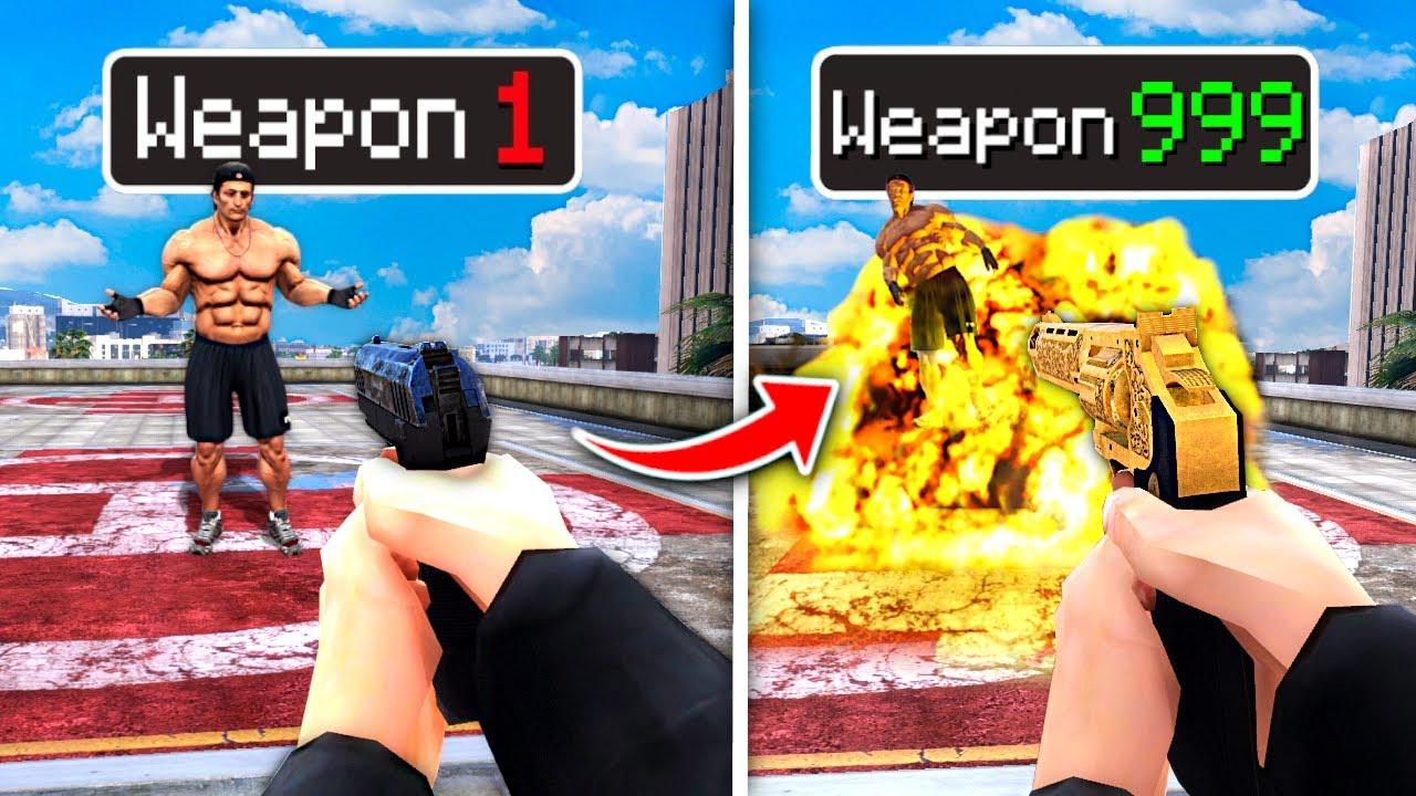 Upgrading GUNS To GOD GUNS In GTA 5 RP.. (Mods)