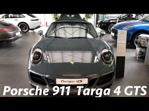 Porsche 911 Targa 4 GTS 2017 quick look in 4K (interior-exterior)