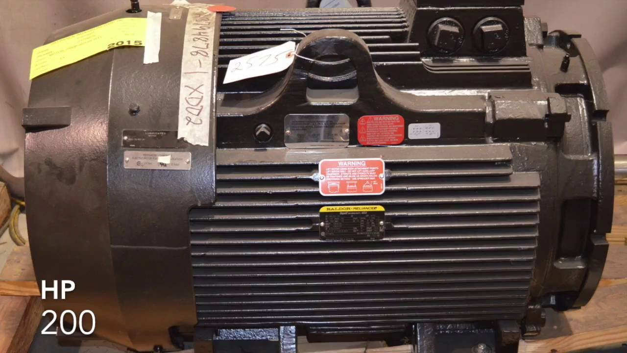 For Sale Ingersoll Rand 23794878 200 HP Air Compressor Electric Motor