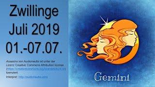 Taroskop Zwillinge 01.-07.07.2019