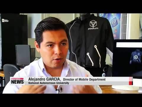Smart jacket paves way for high-tech wearables   스마트 재킷, 건강 모니터링 개발