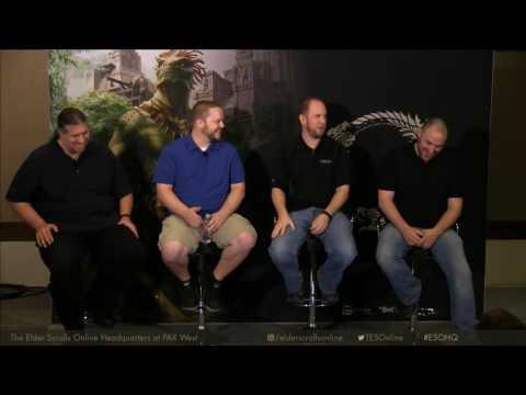 The Elder Scrolls Online: PAX West Day 3 - Creating ESO: Development Stories