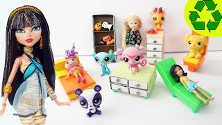 How to Make Matchbox Doll Furniture - (1st part) - Doll Crafts